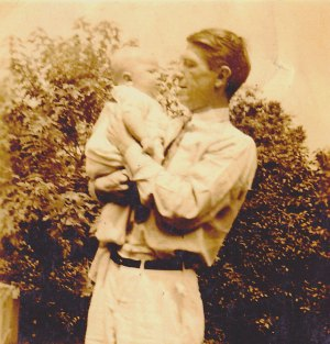 Dad and Me May 1942