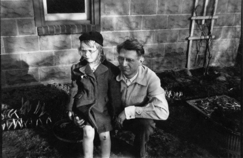 Me and Dad - May 1947