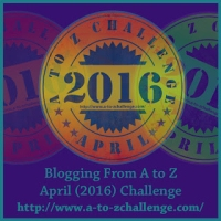 Me in the Middle of Revealing My Theme ~ #atozchallenge
