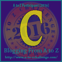 Me in the Middle of #AtoZChallenge ~ Letter C