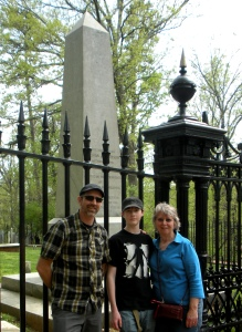 Jefferson's Obelisk Grave Marker