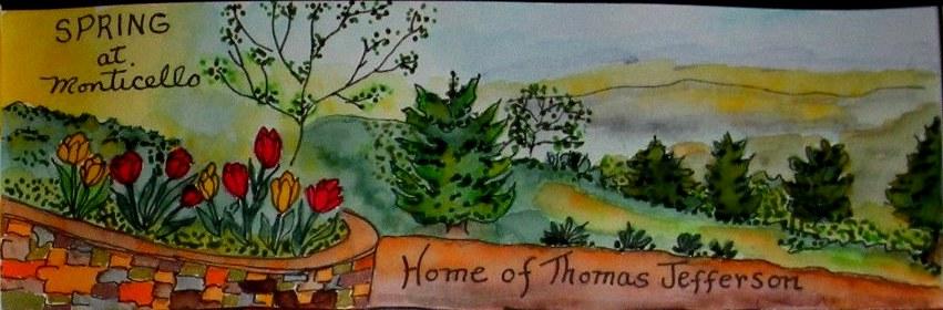 Spring at Monticello