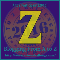Me in the Middle of #atozchallenge ~ Letter Z