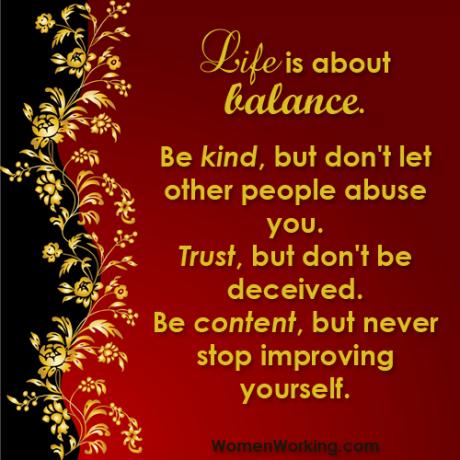 Kind Balance