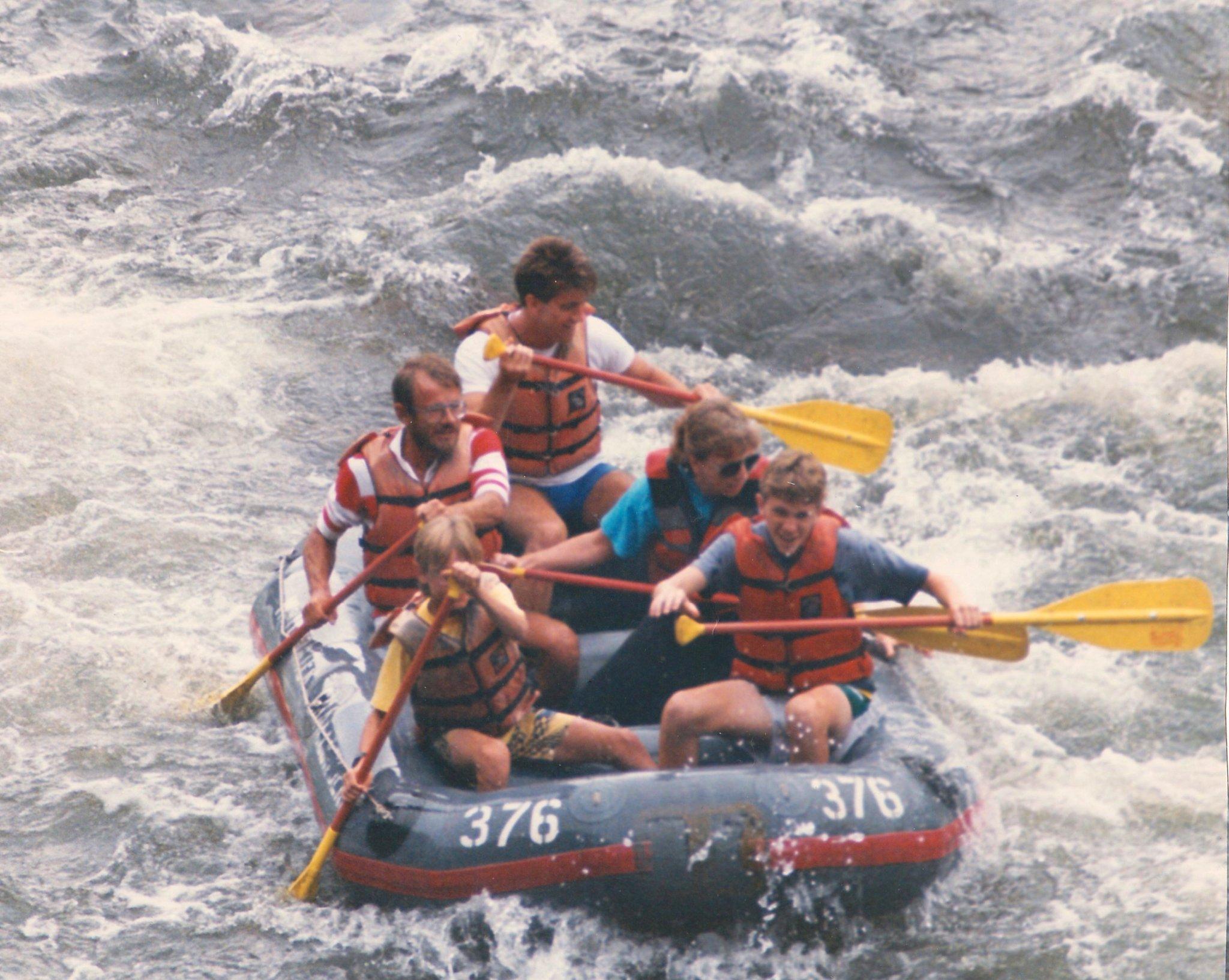 114 - White Water Rafting