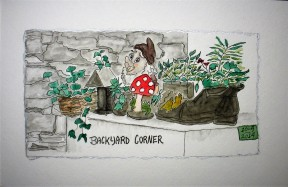 Backyard Corner Dressmaker's Cottage #3