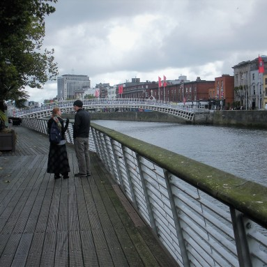 Oct 13 Ha'penny Bridge ~ Dublin FB #1