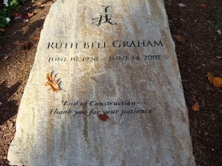 Ruth Graham's Tombstone