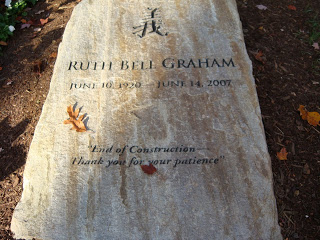 Ruth Graham's Tombstone