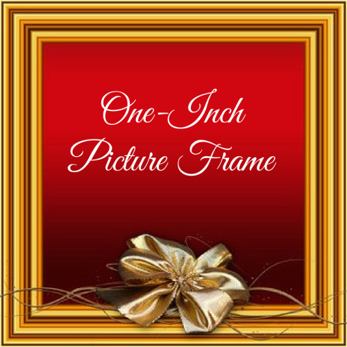 One-Inch Picture Frame (1)