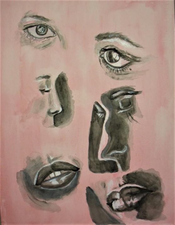 Strathmore Facial Features